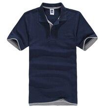 Новый мужской Рубашки Поло Для Мужчин Desiger Поло Мужчины хлопок С Коротким Рукавом рубашки одежды трикотажные golftennis Плюс Размер XS-XXL XXXL