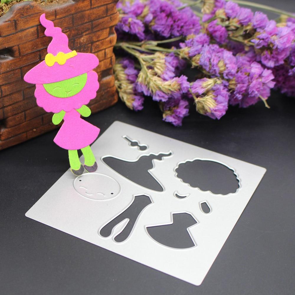 How to scrapbook baby book - 100x100mm New Scrapbooking Diy Cute Baby Doll Girl Shape Steel Cutting Die Sweet Wedding Book Photo Album Art Card Cake Dies Cut
