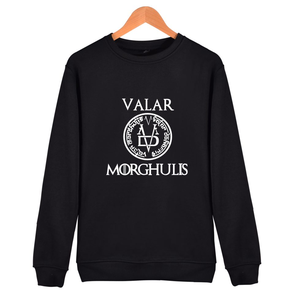 A Song of Ice and Fire Game of Thrones Hoodies Men Women Casual Fashion Game of Thrones Clothing Capless Sweatshirts