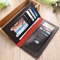 Hombres Carteras 2016 Nuevo Diseño Monedero de La Cartera Ocasional Bolsa de Embrague Manual de sexo masculino monedero carteira masculina D1052-9