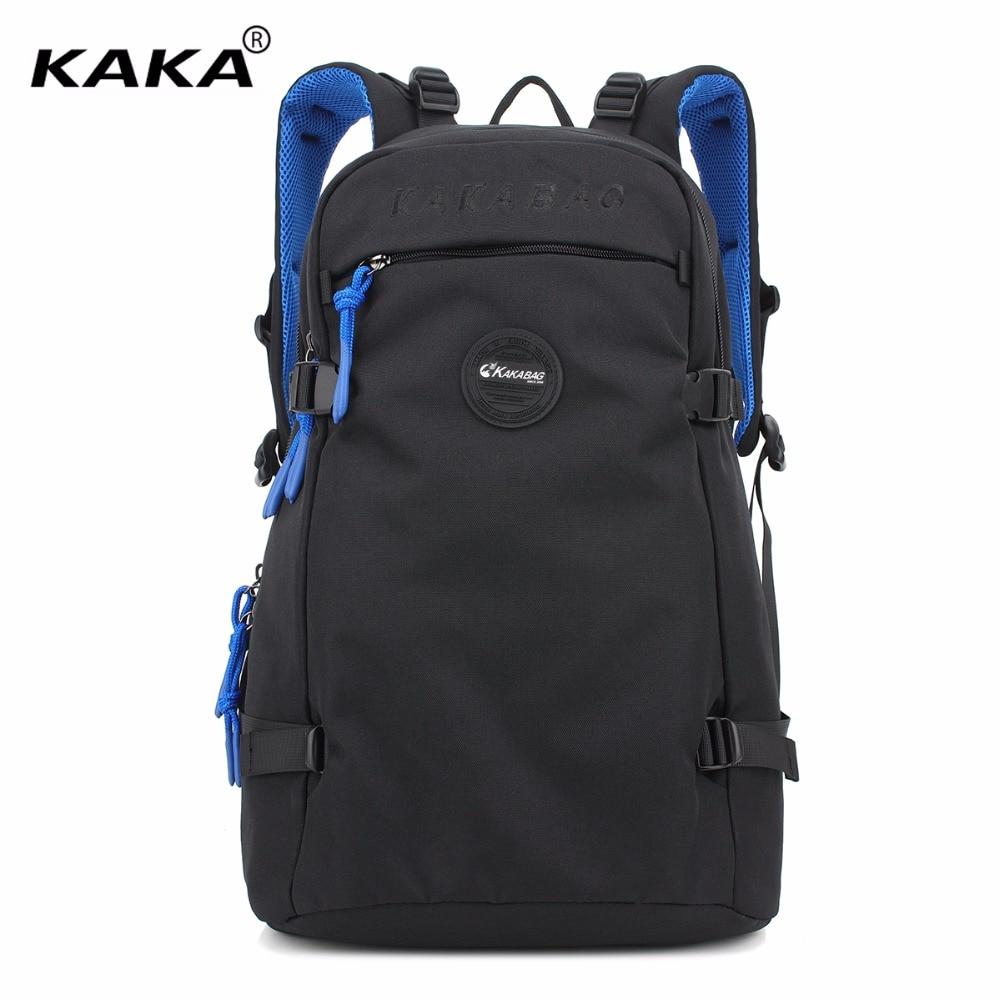 2017 KAKA Fashion Brand Design Japan and Korean Stylish Unisex Men and Women Travel Laptop Backpacks Large Versatile School Bags 2017 new korean style tuguan brand unisex men 15 6 laptop school backpacks women fashion school bags for teenager boys and girls