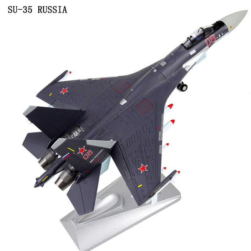 1/72 Simulation Diecast jet fighter static Alloy Metal Airplane model Russia Sukhoi SU-35 (SU35) Super Flanker e fighter brand new terebo 1 72 scale fighter model toys russia su 34 su34 flanker combat aircraft kids diecast metal plane model toy