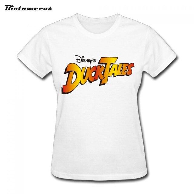 Women S Fashion Short Sleeve 100 Cotton Ducktales Women T Shirt