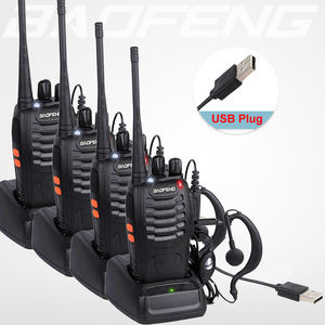 4PCS/LOT BaoFeng Walkie Talkie