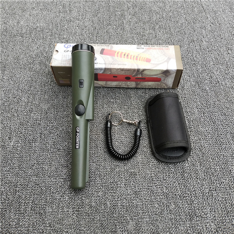 Frees Shipping Hot Sell CSI Pinpointing Hand Held GP Pro Pointer Metal Detector Pinpointer Function The same Garrett Detector цена