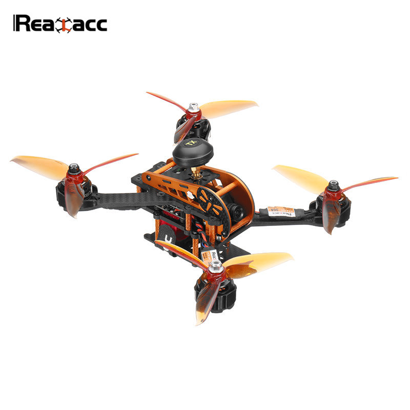 Hot New Realacc Real2 5.8G OMNIBUS F4 FPV Racing Drone OSD 30A BLHeli_32Bit 700TVL Camera 20/200mW VTX 3-4S RC Quadcopter new awesome mini bobi x115 115mm fpv racing drone arf omnibus f3 osd 5 8g 25mw 48ch blheli s 600tvl camera diy multicopter