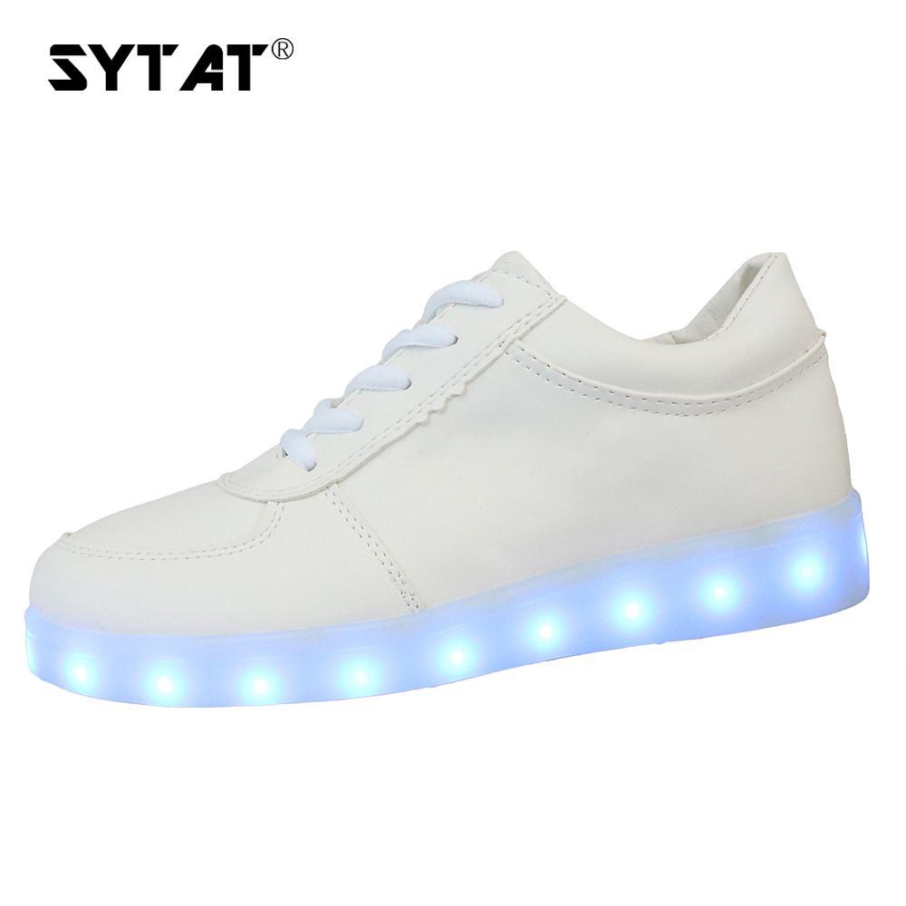 Discreet Sytat Luminous Led Shoes 2017 Emitting Casual Shoes Men Lovers Led Lighted Chaussure Unisex Usb Charging Glowing Led Shoes Men's Shoes