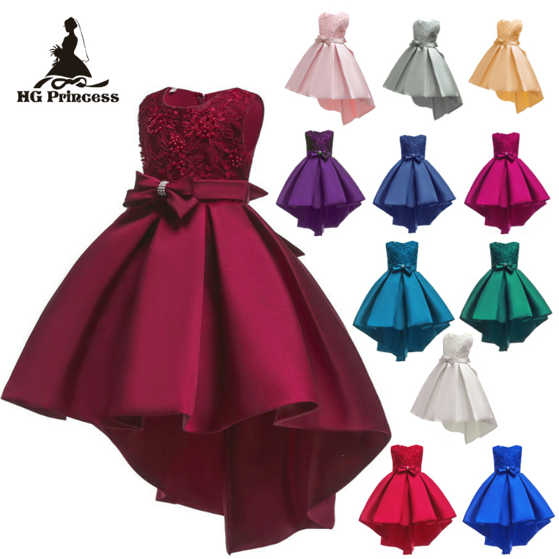 Free Shipping Hot Selling Burgundy Child Princess Dress 2019 New Design Satin Dresses For Girl Party Kids Evening Gowns with BowFree Shipping Hot Selling Burgundy Child Princess Dress 2019 New Design Satin Dresses For Girl Party Kids Evening Gowns with Bow