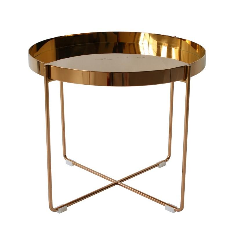 replica Habibi Brass Tray Side Table replica habibi brass tray side table