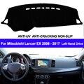 TAIJS крышка приборной панели автомобиля для Mitsubishi Lancer EX 2008 2009 2010 2011 2012-2015 2016 2017 Dashmat Dash коврик солнцезащитный ковер