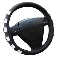 SC098 Stylish Auto For FIESTA Plain For Suzuki Steering Wheel Cover For FOCUS Fashion Women Vehicle Wheel Cover 38cm / 15inch