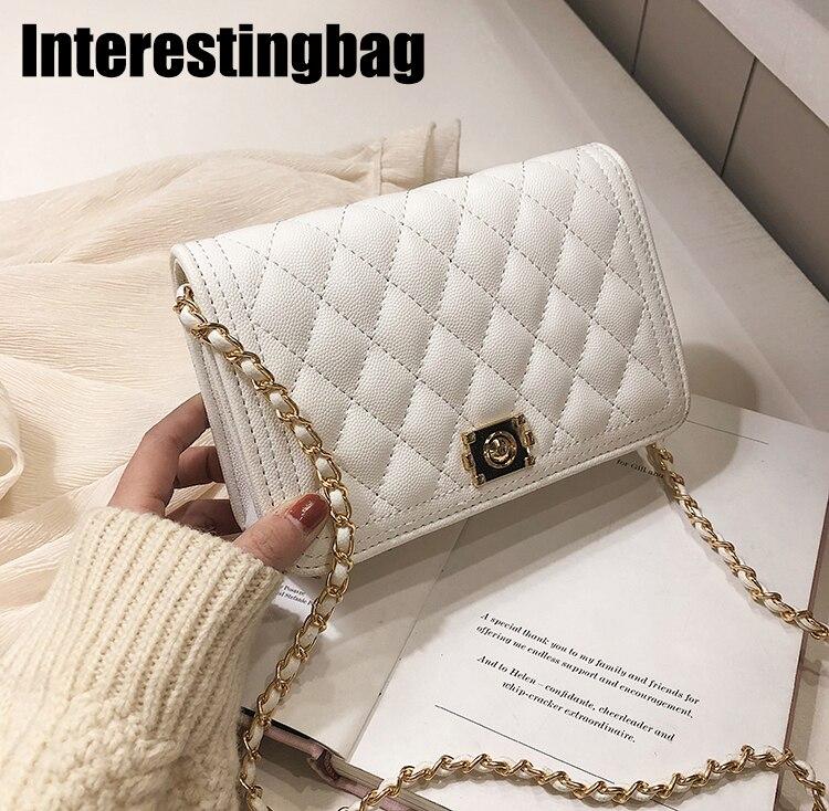 2019 sacs à main de luxe femmes sacs Designer chaîne dorée Mini Messenger sacs, sac à main et sacs à main sac à bandoulière loisirs sac à bandoulière