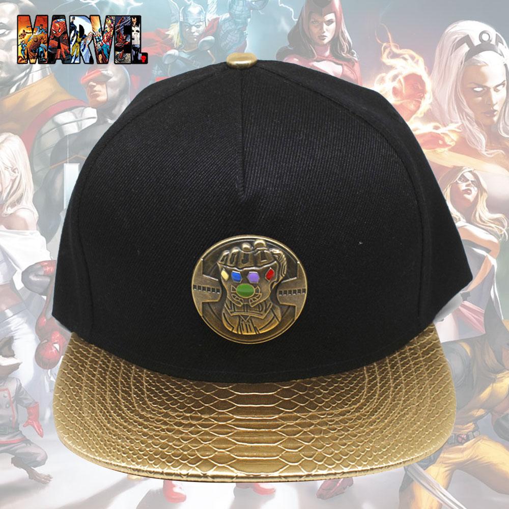 OHCOMICS For Marvel Avengers Infinity War Thanos/Infinity Gauntlet Baseball Hat Adjustable Peaked Cap Outdoor Sunhat Hip Hop Cap