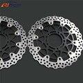 motorcycle Brake Roto front brake disc rotos For KAWASAKI ZX-14R ZZR1400 GTR1400 2006 2007 2008 2009 2010 2011 2012 2013 2014