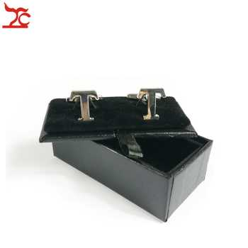 Free Shipping High Quality 60Pcs Mens Luxury Leather Cufflinks Storage Organizer Gift Box Case Black CuffLink Display Holder Box - DISCOUNT ITEM  10% OFF All Category