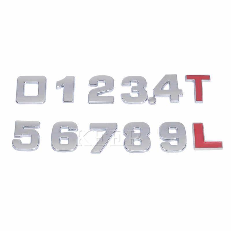 25 Mm 3D Logo Auto Stickers Voor Bmw Audi Honda Volkswagen Mercedes Skoda Ford Peugeot Toyota Opel Mazda Seat Volvo subaru Sticker
