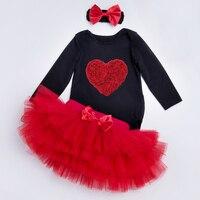 Feikebella Kids Girls Spring Autumn Skirt Suit Romper Climbing Clothes Baby Child Clothing 2pcs Set Girl