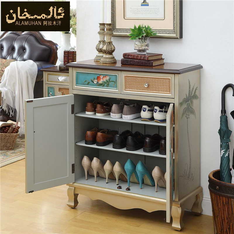 EMS FREE Modern Vintage Entrance Shoe Cabinet Living Room Furniture Side Shoe  Racks Ark-in Shoe Cabinets from Furniture on Aliexpress.com | Alibaba Group - EMS FREE Modern Vintage Entrance Shoe Cabinet Living Room Furniture