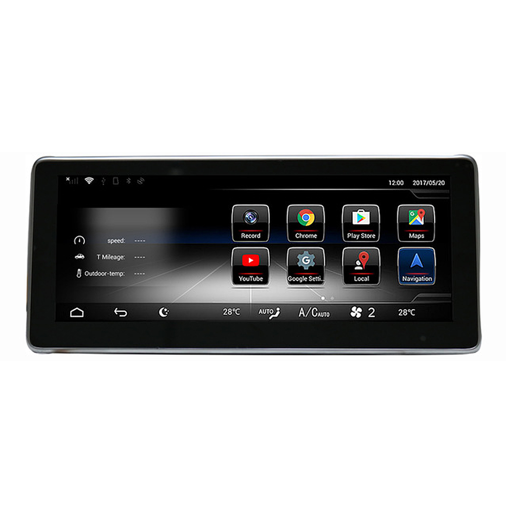1025 Touch Screen Android Gps Navigation Radio Stereo Dash Mercedes Benz Product Multimedia Player For C Class S205 W205 Glc 2014 2017 In Car