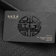 Персонализированные Свадебные символ вырез качество электрофорез черный нержавеющая сталь Свадьба обеденный Ресторан бизнес металлическая карта