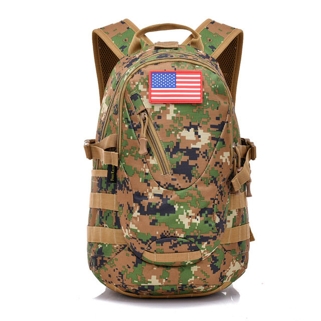 e88f90cdbae9 GYKZ 6 Colors Digital Camo Molle Tactical Backpack Army Bag For Men Outdoor  Hiking Expedition Military Rucksack Waterproof HY095