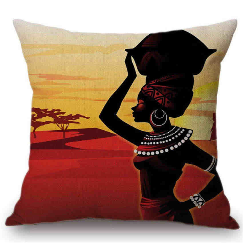 Detail Feedback Questions About Africa Cushion Cover Home Decor