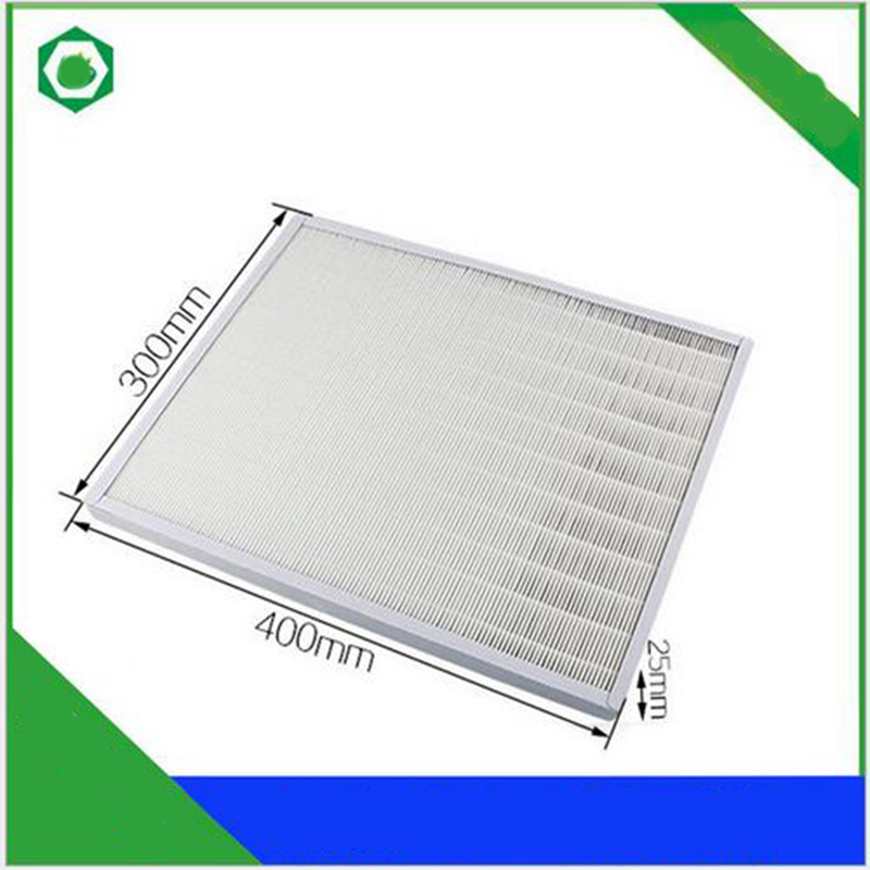 ФОТО 40*30*2.5cm Air Purifier Parts HJZ2202 HEPA Dust Collection Filter For YaDu Air Purifier