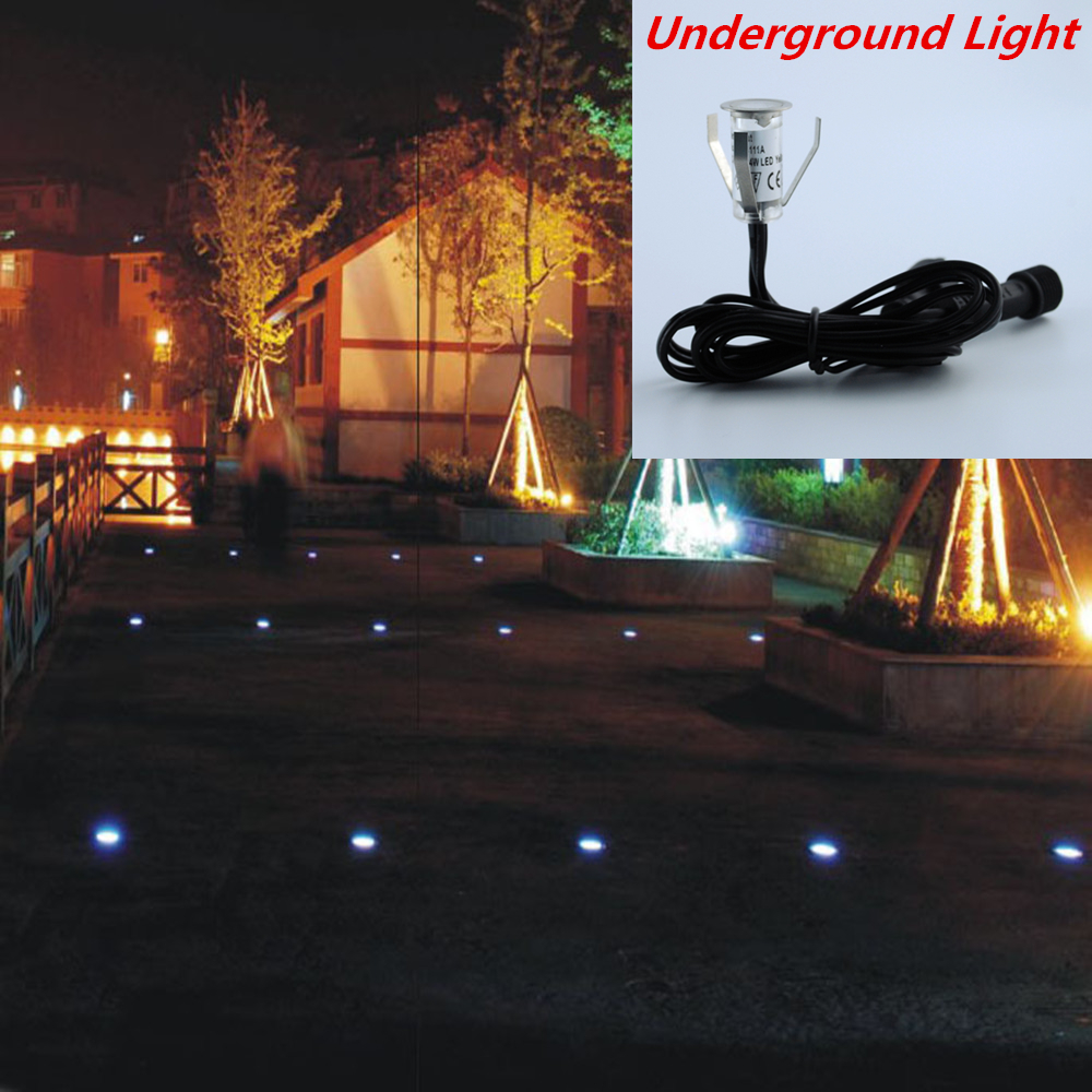 6pcs Lot Waterproof Led Deck Light For Patio Floor Stair Underground Lighting Outdoor Garden Step Lamp Small Size Recessed Dc12v In Lamps
