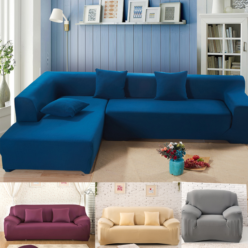 i shaped sofa cover stretch Case sectional couch home