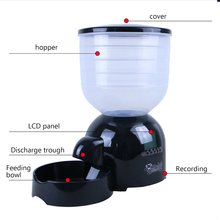 Automatic Pond dog Feeder cat Food Dispenser Digital pet Timer Feeding Machine Auto dogs