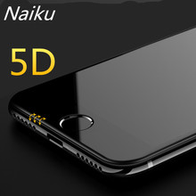 5D Full Cover Edge Tempered Glass For iPhone 7 8 6 Plus Screen Protector For iPhone X 6 6s 7 Plus Film Protection Glass