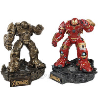 32cm Avengers IronMan Hulkbuster Stance Resin Super Hero Hulkbuster Battle Form Model Toys Birthday Christmas Gift