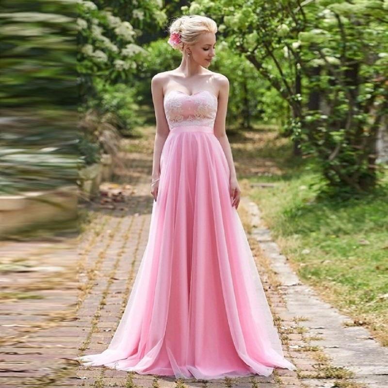Lujo Vestido De La Dama De Honor Brillante Componente - Ideas de ...