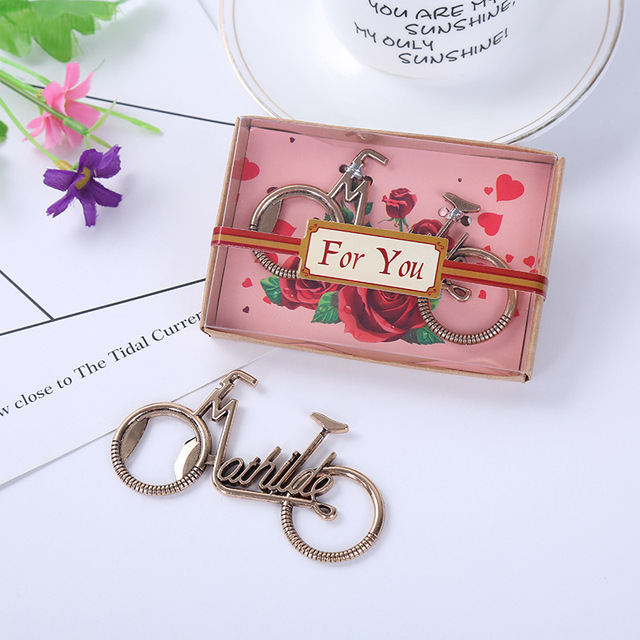 Baby Shower Favor Gifts And Giveaways For Guests   Bike Bicycle Metal Beer  Bottle Opener Wedding