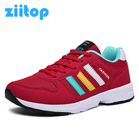Ziitop New Brand Women Running Shoes Women Light Mesh Breathable Trainers Outdoor Flats Sneakers Women Zapatillas