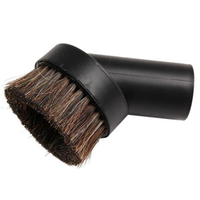 24mm 40mm Vacuum Brush Round Home Horse Hair Dusting Brush Dust Clean Tool Attachment For Vacuum Cleaner Top