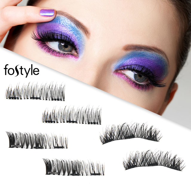 Mink Fur Eyelashes Halloween Lashes Miknatisli Takma Kirpik Magnetic False Eyelashes D Magnetic False Lash Mink