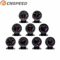 CNSPEED 2,5 дюймов 60 мм турбонаддув датчик температуры воды датчик давления масла выхлопное напряжение гоночный автомобиль YC101347