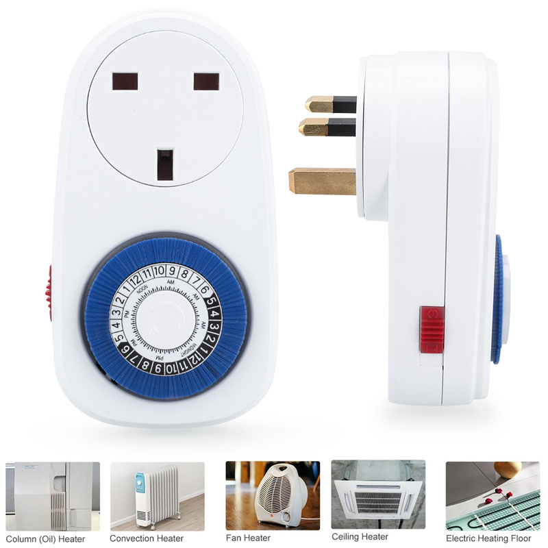24 Hours Programmable Timer Socket 24 Hours Socket Switch Switch Programmable Programmable Timer Socket Wall Plug Mechanical fisher price soothe & glow seahorse