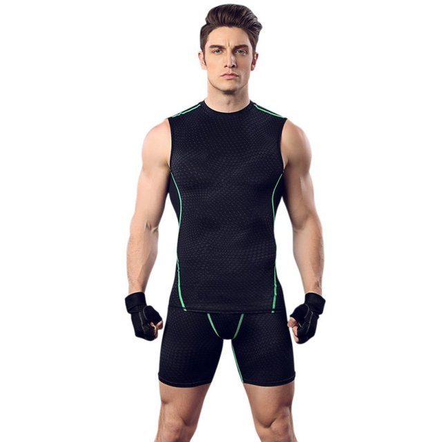 e82a2e9e1b92a Balight Men Sport Compression T Shirt Athletic Gym Running Vest Fitness  Elastic Breathable Undershirts Male Tank Tops V2