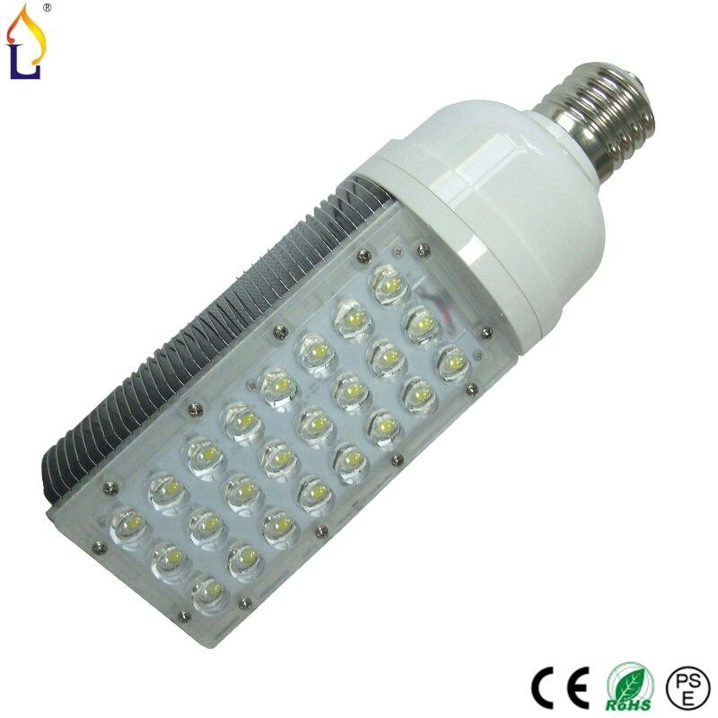 20 pcs/lot 28 W E27 E40 a mené la lumière de maïs Remplacer lampe Fluorescente Compacte Sans Scintillement lumière led haute puissance 24 led ampoule lampe