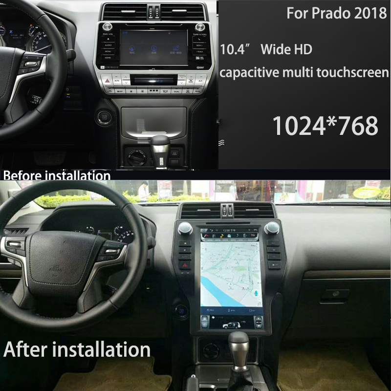 Perfect LiisLee Car Multimedia GPS Hi-Fi Audio Radio Stereo For TOYOTA Land Cruiser Prado J150 LC150 2018 Original Style Navigation NAVI 0