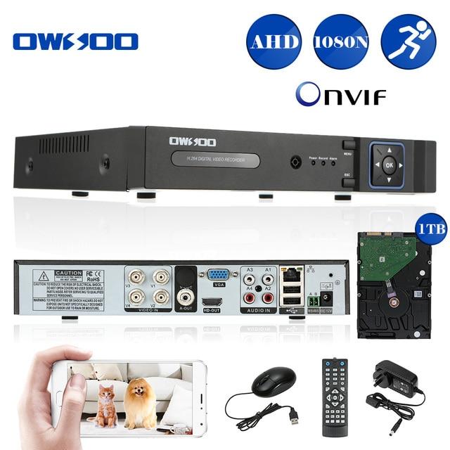 Aliexpress Com Buy Owsoo Cctv 1080n Ahd Dvr 4ch Recorder