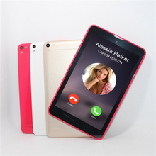 MEW 7 pulgadas Tableta 3G GSM phone call tablet pc MTK8382 Quad-core 1 GB 16 GB 800*1280 IPS 8.0 cámara 3000mHA WIFI Bluetooth
