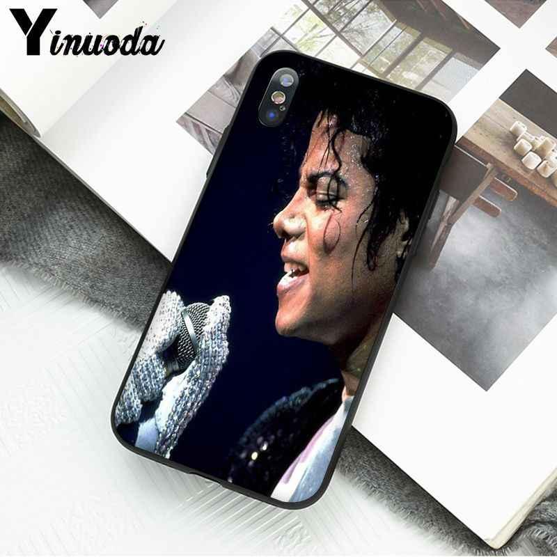 Yinuoda MICHAEL Jackson Dance Music CUSTOM Photo โทรศัพท์กรณีสำหรับ iPhone ของ Apple iPhone 8 7 6 6S PLUS X XS MAX 5 5S SE XR มือถือ