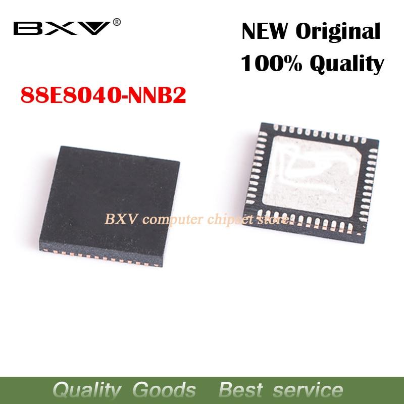 5pcs 88E8040-NNB2 88E8040 NNB2 QFN Network card chip new original laptop chip free shipping