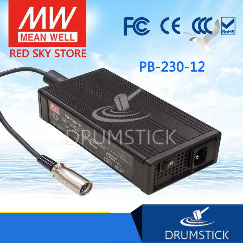 Advantages MEAN WELL PB-230-12 14.4V 16A meanwell PB-230 14.4V 230W Single Output Battery Charger mean well original pb 120n 54p 55 2v 2 2a meanwell pb 120n 55 2v 121 44w power supply or battery charger