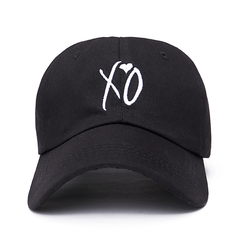 5b0bcab60c4 Fashion adjustable XO hat the Weeknd Snapback hats for men women brand hip  hop dad caps