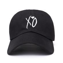 Fashion adjustable XO font b hat b font the Weeknd Snapback font b hats b font