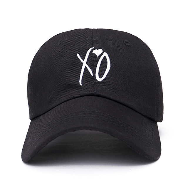 9eac3b834bc Fashion adjustable XO hat the Weeknd Snapback hats for men women brand hip  hop dad caps